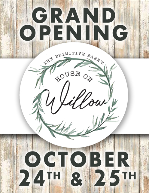 House On Willow<br>Grand Opening poster